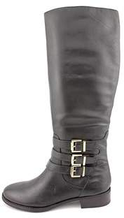 INC International Concepts Francy Leather Knee High Wide Calf Boot.