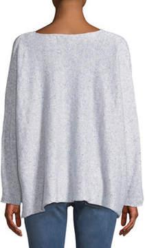eskandar Long-Sleeve Boxy Sweater
