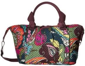 Vera Bradley Hadley Satchel Satchel Handbags - AUTUMN LEAVES - STYLE