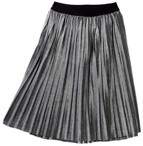 Love, Fire Pleated Lurex Skirt (Big Girls)