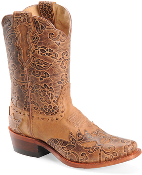 Sonora Rust Jessi Leather Cowboy Boot