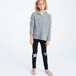 J.Crew Girls' cozy everyday leggings with metallic patches