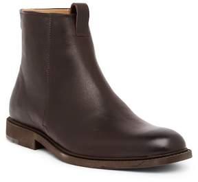 HUGO BOSS Cultroot Zip Leather Boot