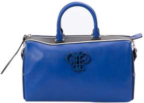 Emilio Pucci Blue Leather Handbag