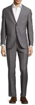Corneliani Wool Narrow Pinstripe Suit