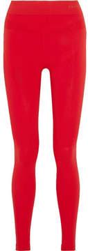 Falke Ergonomic Sport System - Stretch-knit Leggings - Red