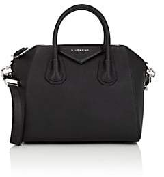 Givenchy Women's Antigona Small Leather Duffel Bag-Black