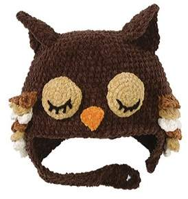 San Diego Hat Company Unisex Infant Owl Hat Dl2428.
