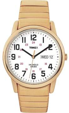Timex Men's Easy Reader | Stainless Steel Expansion Band Day/Date | Dress Watch