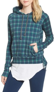 Frank And Eileen Women's Plaid Pullover Hoodie