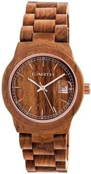 Earth Biscayne Brown Dial Watch