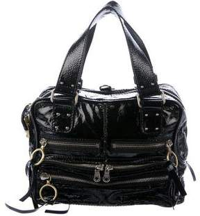 Chloé Patent Leather Zip Bag