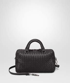 Bottega Veneta Nero Intrecciato Nappa Top Handle Bag