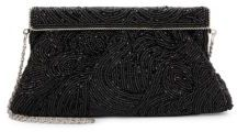 La Regale Beaded Chain Strap Clutch