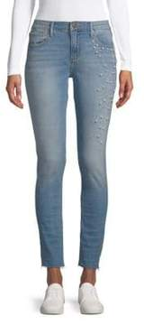 Driftwood Jackie Cut-Off Faux Pearl Jeans