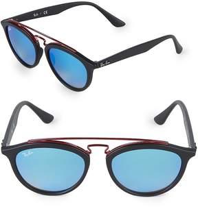 Ray-Ban Women's 53MM Round Gatsby II Sunglasses