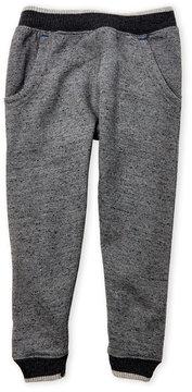 DKNY Toddler Boys) Speckled Knit Fleece Jogger Pants
