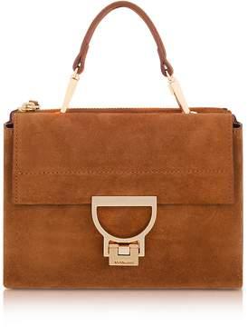 Coccinelle Brule Suede Arlettis Mini Bag w/Shoulder Strap