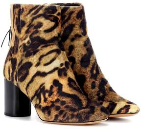 Isabel Marant Ritza leopard-printed ankle boots