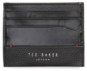 Ted Baker Men's Slippry Leather Card Case - Black