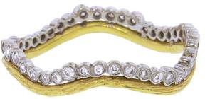 Cathy Waterman Branch And Scallop Stacking Band Ring