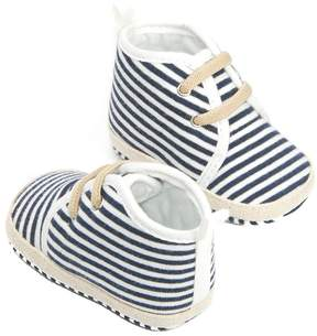 Osh Kosh Baby Girl Striped Crib Shoes