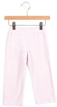 Petit Bateau Girls' Velvet Wide-Leg Pants