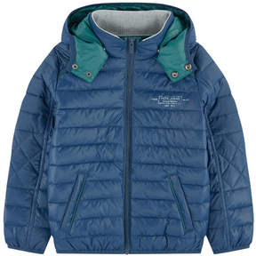 Pepe Jeans Padded coat with a removable hood