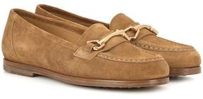 A.P.C. Daisy suede loafers