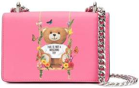 Moschino Botanical Teddy crossbody bag