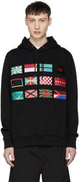 Marcelo Burlon County of Milan Black Flags Hoodie