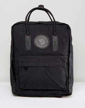 Fjallraven Kanken No2 Backpack with Leather Straps