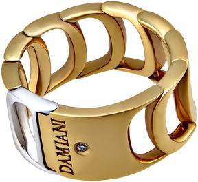 Damiani Damianissima 18k White & Yellow Gold Ring