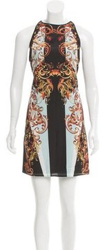 Clover Canyon Ikat Print Mini Dress