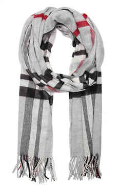 Fraas Women's Plaid Scarf