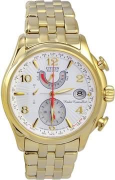 Citizen FC0002-53A 39mm Gold Steel Bracelet & Case Mineral Women's Watch