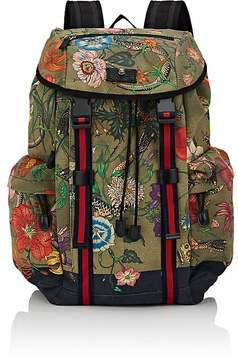 Gucci Men's Floral- & Animal-Print Backpack