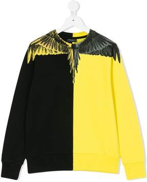 Marcelo Burlon County of Milan Kids wings print sweatshirt