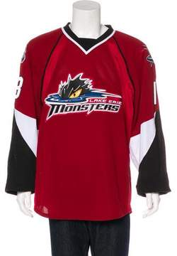 Reebok Lake Erie Monsters Hockey Jersey
