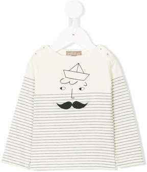Emile et Ida stripe pattern T-shirt
