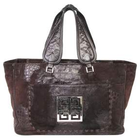 Givenchy Brown Leather Handbag