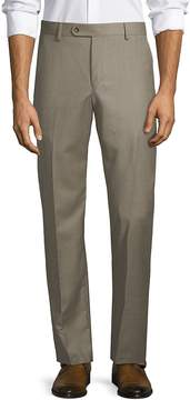 Saks Fifth Avenue BLACK Men's Nano Twill Wool Pants