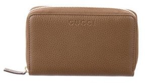 Gucci Leather Zip-Around Wallet w/ Tags - BROWN - STYLE