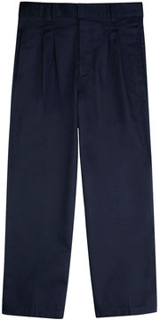 JCPenney French Toast Twill Double-Knee Pleated Pants - Boys 8-20 and Husky