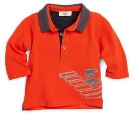 Armani Junior Infant Logo Polo