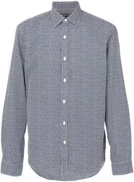 Michael Kors speckled long sleeved shirt