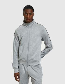 Reigning Champ Coolmax Terry Track Jacket in Heather Grey