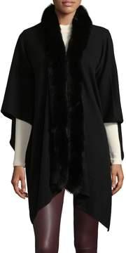 Saks Fifth Avenue Women's Fur Open Shawl