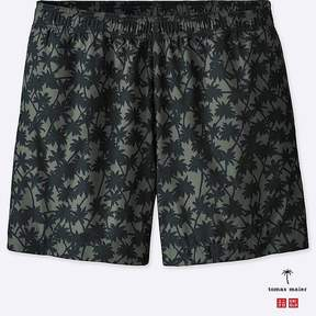 Uniqlo Men's Printed Swim Relaxed Shorts