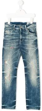 Diesel washed effect jeans